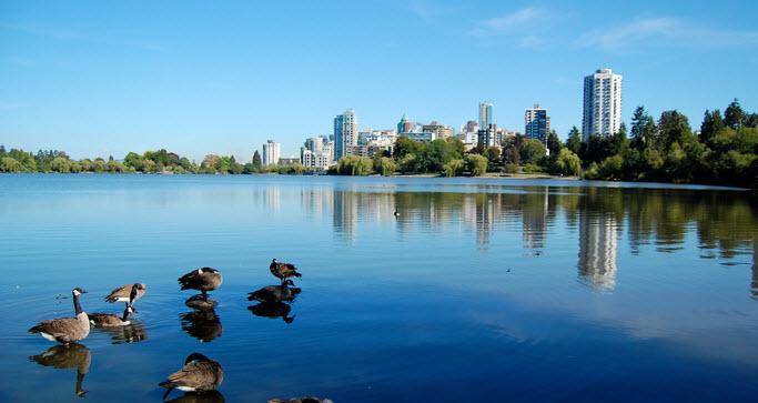 Lost Lagoon Lake - Vancouver